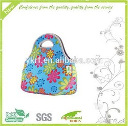 Waterproof insulate Picnic Lunch Bag Tote with sunflower