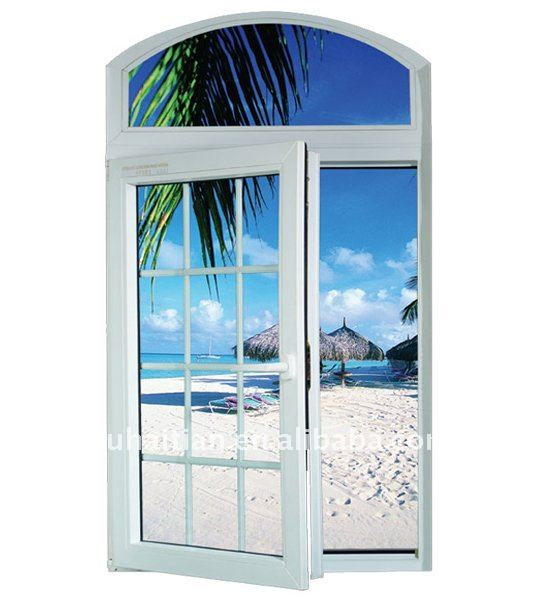 Top arched casement windows manufacturer buy arched for Vinyl window manufacturers