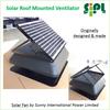 Axial Flow Fan Solar Roof Mounted Heat Extractor