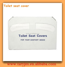 Toilet seat cover paper travel pack, disposable toilet paper seat cover