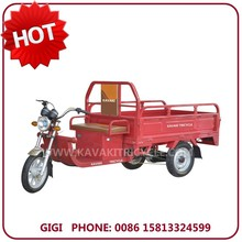 China Guangzhou factory supplier popular 20Ah48V/60V powerful battery electric delivery tricycle China for disabled