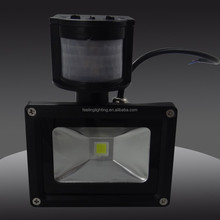 High quality cheap factory price outdoor 10w led sensor light 110v made in china