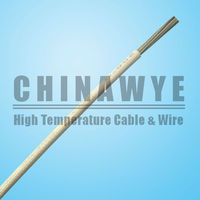 UL3075 10AWG fiberglass braid silicone tinned copper wire