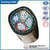 0.6/1kv low voltage cable Al/XLPE/STA/PVC 3*185mm2+1*95mm2 wire cable factory price