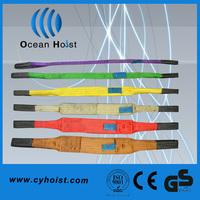 CE approved 100% polyester webbing sling belt