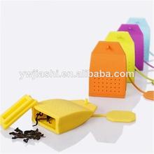 Sobre de silicona de grado alimenticio de infusión de té conjunto de herramientas de té& café tipo