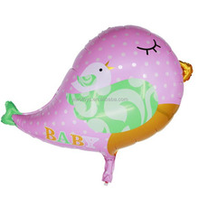Kids party decorations cute helium pink birds balloon