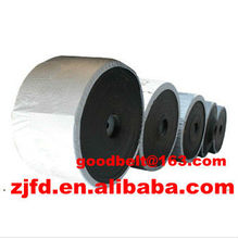 plain rubber conveyor belt