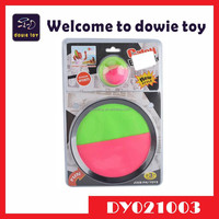 2015 New China product plastic toy beach velcro ball set catch game toy wholesale