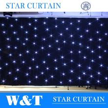 W&T Excellent indoor led stage curtain for theater decoration