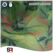 Free sample 3D Digital Printing Organza fabric for Fashion Dress whoesale