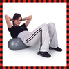 2015 hot inflatable pilates fitness gym peanut yoga oval exercise ball