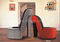 high heeled shoes chair
