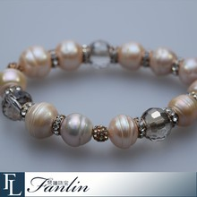 Hot sale unique freshwater pearl bracelet jewelry