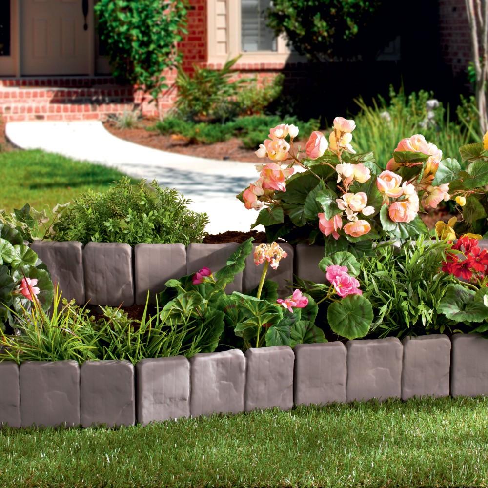 Bordures de jardin piquetage pas cher cl ture de jardin en for Fleur de jardin pas cher