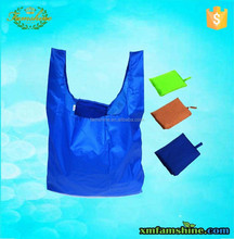 reusable foldable nylon shopping bag