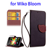 mobile phone hanging accessories rotating stand leather case for Wiko Bloom