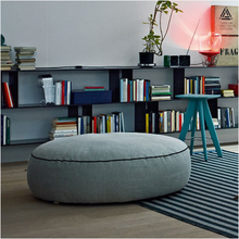 good quality modern living room sofa ottoman, Home Furniture Small Fabric Sofa Chair