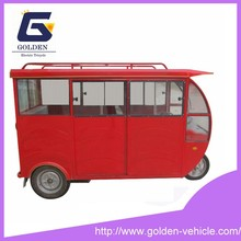 Battery Operated Taxi Electric Rickshaw