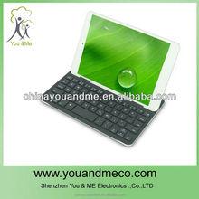 Ultra thin Aluminum Wireless Bluetooth Keyboard Cover Case For Apple iPad mini