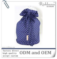 beautiful drawstring pouch bag for cosmetic
