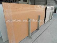 synthetic quartz/Engineered Stone with mirror/sparkling orange Quartz Kitchen top/Counter top/Table top/Bathroom Vanity top