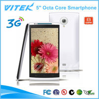 Slim 5'' Octa Core Android 5 inch Screen Smartphone