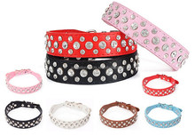 wholesale colorful PU dog collar,coach dog leash and collar