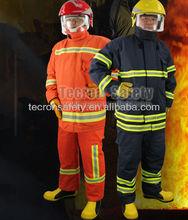 Tecron sicurezza antincendio marcia en469/pompiere vestito/pompiere abbigliamento/salvataggio abbigliamento