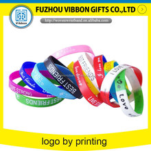 friendly colorful custom silicone bracelet for kids