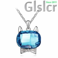 Europe presents the new T station cat pendants, wholesale Party fiery personality shine glossy fashion accessories