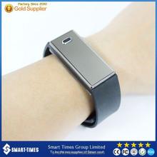 [Smart-Times]Watch Custom Logo Health Sports Band Bluetooth4.0 Waterproof Smart Watch