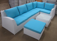 Rattan sofa garden furniture outdoor furniture rattan stacking sofa made in China