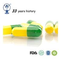 Capsule green slimming empty medicine capsule with FDA,HALAL, ISO