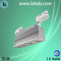 Dimmable 50w led track light for car display showroom