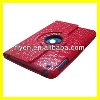 New Product Leather For iPad Case 360 Rotating Magnetic Smart Cover Alligator Pattern
