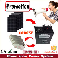 200W to 10KW Several Option For home use solar energy product