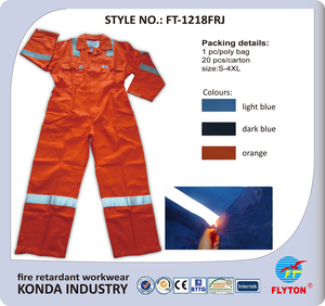 عالية الأداء دوبونت نومكس العمل الحرائق القطن المعطف العاكسة FT-1218FRJ