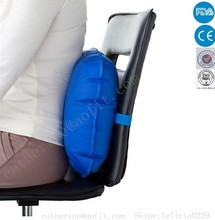 Office Chair Air Pillow for Back Pain & Travel Back Support for Car-Free pump