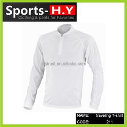 Merino Wool T-Shirt underwear top L/S zip /crew neck merino wool outdoor clothing base layer