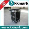 2u flight cases/pro amp cases/amplifier rack cases