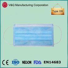 Bird flu defensive Type IIR face mask 25+25+25gsm best selling products