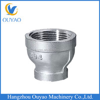 NPT Threaded Stainless Steel Pipe Fittings Reducer