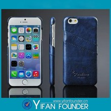 Mobile case cover,for iphone 6 leather case,leather back case for iphone 6