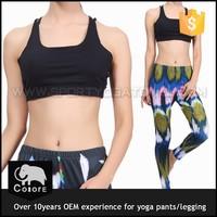 Hot sexy gym wear fitness ladies yoga leggings