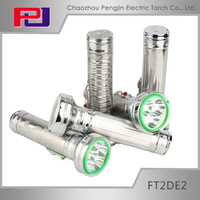 FT2DE2 Powerful flat led torch flashlight