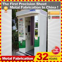 por encargo de metal barato foto kiosco stand para la venta