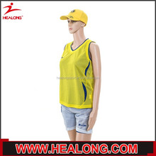 trade assurance usa 100 polyester yellow brand t-shirt for women