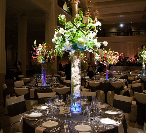 Flower Lights in Vase Lights Flower Vase Wedding