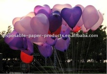 Pearlized Heart Balloons